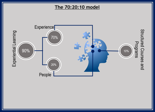 The 70-20-10 model